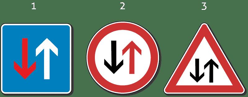 znakovi upozorenja prilikom izlaska